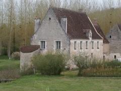 Ancien monastère dit La Corroierie - Français:   Bâtiment à l\'affectation indéterminée (XIIIe-XIVe siècles) et tour (XVIe-XVIIe siècles)