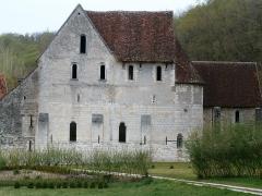 Ancien monastère dit La Corroierie - Français:   L\'église de la Corroirie.