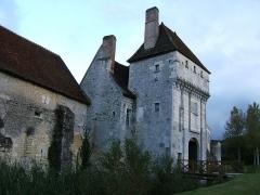 Ancien monastère dit La Corroierie -  Vue de la porte forte de la Corroirie