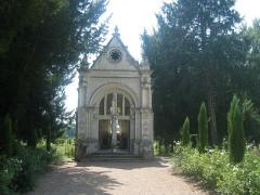Château des Réaux - Deutsch:   Kapelle des Schlosses Les Réaux