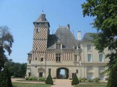 Château des Réaux - Deutsch:   Torhaus des Schlosses Les Réaux