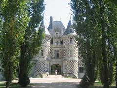 Château des Réaux - Deutsch:   Schloss Les Réaux nahe Bourgeuil