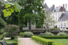 Château des Réaux - Français:   Le lilas  dans un parc du Château des Réaux