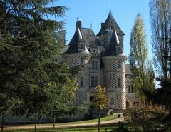 Château des Réaux - English:   Castle Les Réaux near the village of Bourgueil in the Loire valley of France.