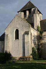 Eglise Notre-Dame-de-Fougeray - Cormery - Eglise Notre-Dame de Fougeray Le transept Nord partiellement en petit appareil