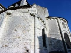 Eglise Notre-Dame-de-Fougeray - Détail du chœur de l'église