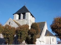 Eglise Notre-Dame-de-Fougeray - Clocher de l'église.