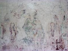 Eglise Notre-Dame-de-Fougeray - Fresque murale dans la nef.