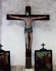 Eglise paroissiale Saint-Urbain - Français:   Christ en croix