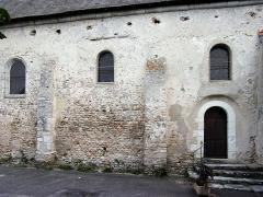Eglise paroissiale Saint-Urbain - Français:   Mur sud de la nef de l\'église