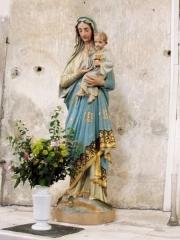 Eglise paroissiale Saint-Urbain - Français:   Statue de la Vierge