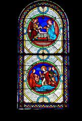 Eglise paroissiale Saint-Urbain - Français:   Vitrail des ateliers Lobin