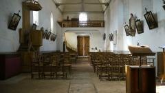 Eglise paroissiale Saint-Urbain -  Eglise de Courçay