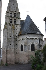 Eglise paroissiale Saint-Urbain - Français:   Courçay - Eglise Saint-Urbain Vue de l\'Est