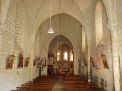 Eglise Notre-Dame - Français:   Crouzilles (Indre-et-Loire, France); l\'église communale.