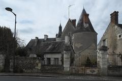 Château - Deutsch: Schloss in Genillé im Département Indre-et-Loire (Centre-Val de Loire/Frankreich)