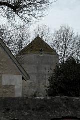 Château - Deutsch: Taubenturm des Schlosses in Genillé im Département Indre-et-Loire (Centre-Val de Loire/Frankreich)
