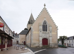 Eglise paroissiale Sainte-Eulalie - Deutsch: Genillé im Département Indre-et-Loire/Frankreich - Kirche Sainte-Eulalie