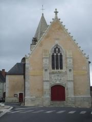 Eglise paroissiale Sainte-Eulalie -  Genillé (L'église)