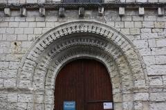 Eglise paroissiale Saint-Gilles - Français:   L\'Île-Bouchard - Eglise Saint-Maurice Portail Ouest