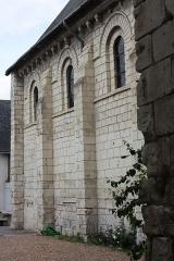 Eglise paroissiale Saint-Gilles - Français:   L\'Île-Bouchard - Eglise Saint-Maurice Mur Sud de la nef