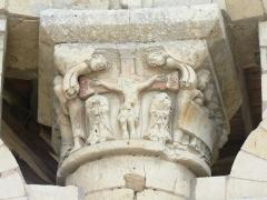 Ancien prieuré Saint-Léonard -  Prieuré Saint-Léonard (XIe siècle) à L'Île-Bouchard, Indre-et-Loire, France