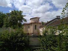Ancien prieuré Saint-Léonard - Côté latéral droit du prieuré Saint-Léonard de l'Île-Bouchard, Indre-et-Loire