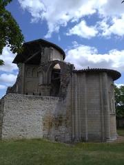 Ancien prieuré Saint-Léonard - Côté latéral gauche du prieuré Saint-Léonard de l'Île-Bouchard, Indre-et-Loire