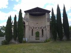Ancien prieuré Saint-Léonard - Vue générale du prieuré Saint-Léonard de l'Île-Bouchard, Indre-et-Loire