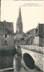 Eglise paroissiale Saint-Jean-Baptiste - Carte postale de Langeais (Indre-et-Loire, France)