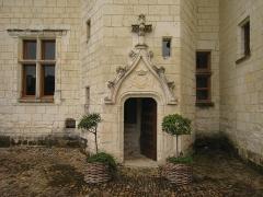 Château du Rivau -  Former mediaeval Castle Le Rivau near the Loire river in France, Entrance