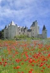 Château du Rivau - English: chateau du rivau in summer. Self made  Summary chateau du rivau in summer. Self made