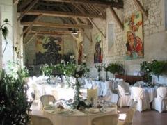 Château du Rivau -  Salle de la Toison d'or dans les granges du chateau du Rivau
