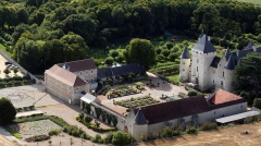 Château du Rivau - English: Le Rivau Castle, Castle and Garden of the Loire Valley, Next to Chinon, Richelieu, and Tours