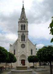 Eglise paroissiale Saint-Martin -  Église de Ligueil, Indre-et-Loire, France