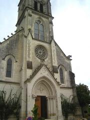 Eglise paroissiale Saint-Martin - Français:   Église Saint-Martin à Ligueil, Indre-et-Loire, France .