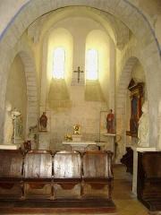 Eglise paroissiale Saint-Saturnin - Français:   Chapelle latérale de l\'église de Limeray - Indre et Loire - France