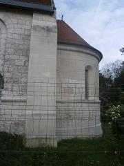 Ancienne chapelle de Vignemont - Français:   abside de la chapelle de Vignemont vue du côté sud