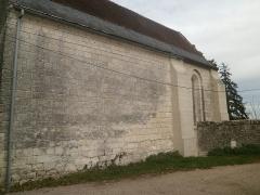Ancienne chapelle de Vignemont - Français:   Vue de la nef de la chapelle de Vignemont depuis le sud