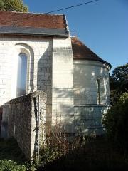 Ancienne chapelle de Vignemont - Français:   Abside de la chapelle de Vignemont à Loches