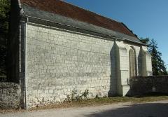 Ancienne chapelle de Vignemont - Français:   Nef de la chapelle de Vignemont à Loches