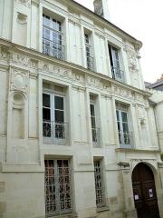 Maison dite de la Chancellerie - Français:   Loches - Maison de la Chancellerie