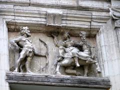 Hôtel ou Immeuble dit Maison du Centaure - Français:   Loches - Maison du Centaure et Chancellerie - Le centaure