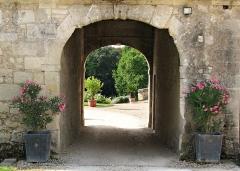 Domaine de la Bourdaisière - Deutsch: Eingang des Schlosses La Bourdaisière