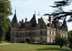 Domaine de la Bourdaisière - Deutsch: Schloss La Bourdaisière von Südwesten