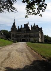 Domaine de la Bourdaisière - Deutsch: Schloss La Bourdaisière von Westen