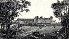 Domaine de la Bourdaisière - English: Château de La Bourdaisière, vers 1770
