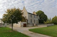 Ancien château - Français:   Montreuil-en-Touraine durant l\'Opération Libre.