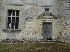 Ancien château - Français:   Château de Montreuil-en-Touraine
