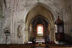 Eglise Saint-Vincent - Français:   Neuvy-le-Roi - Eglise Saint-Vincent Le choeur
